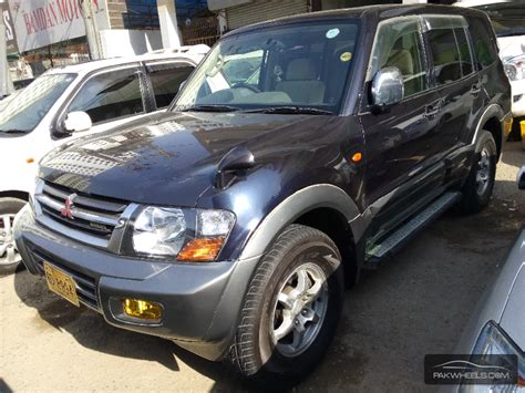 how it works cars 2001 mitsubishi pajero parental controls mitsubishi pajero 2001 for sale in karachi pakwheels