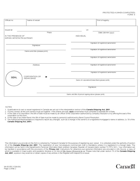 maryland vessel bill of sale form templates fillable printable