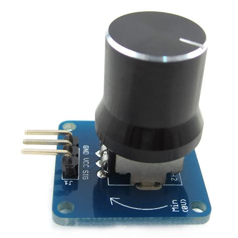 Knob Sensor by Arduino Knob Switch Rotary Angle Sensor Module