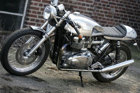 Q Bike Motorrad by Umgebautes Motorrad Triumph Bonneville Von Q Bike Technik