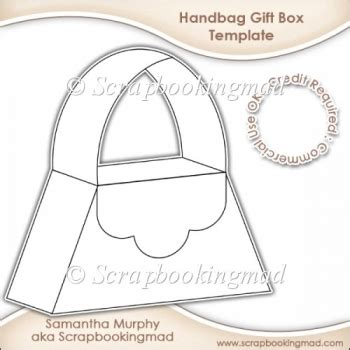 free handbag card template handbag gift box template cu ok 163 3 50 instant card