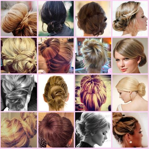 buns hairstyles how to easy step by step hair buns style flowerfairy5