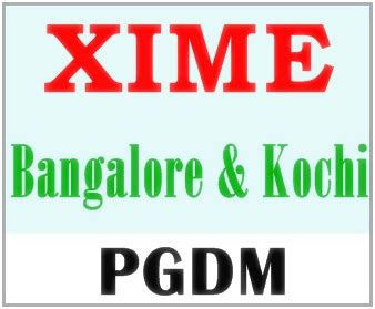 Mba Entrance Coaching In Kochi by Xime Bangalore Kochi Chennai Pgdm Admission 2018