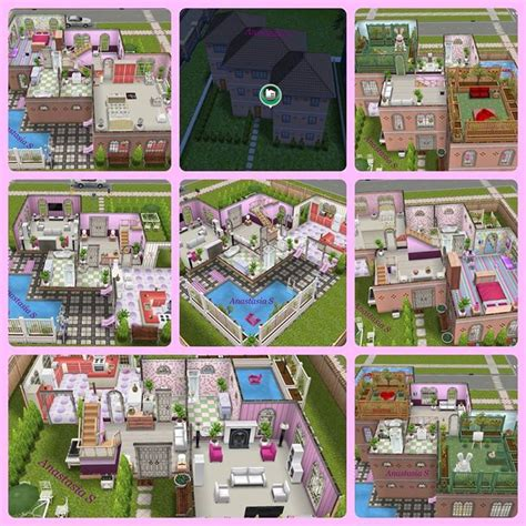 home design for sims freeplay sims freeplay i like the zigzag shape of the house