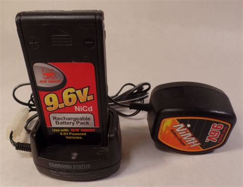 6v rechargeable battery and charger new bright 9 6v nicd rechargeable battery pack and wall