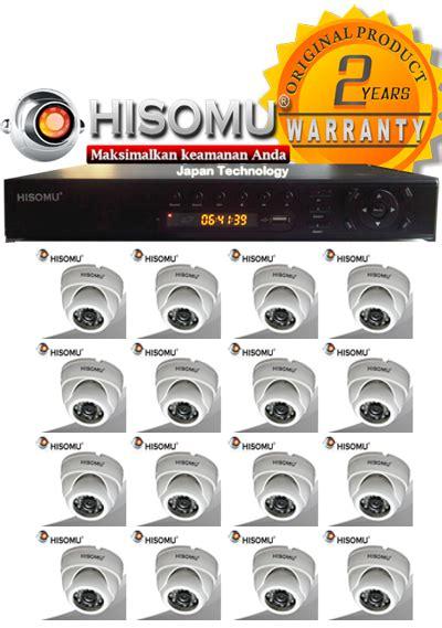 Dvr Hisomu 4 Channel Trimode paket cctv ir hisomu murah by japan technology