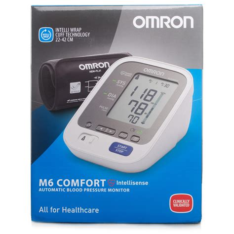 omron blood pressure monitor m6 comfort omron m6 comfort blood pressure monitor chemist direct