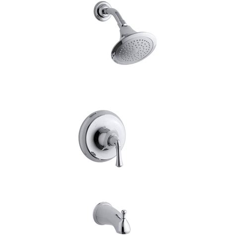 kohler forte 1 handle tub and shower faucet trim only in