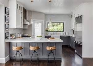 White And Grey Kitchen Designs Design Your Own Gray And White Kitchen Homestylediary Com