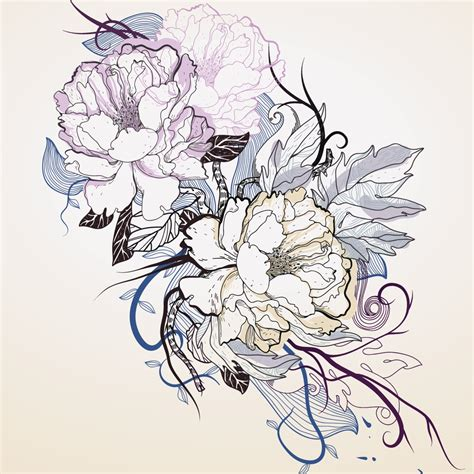 peony tattoo designs these designs for peony tattoos are anything but ordinary
