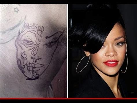 chris brown neck tattoo meaning chris brown neck rihanna beaten