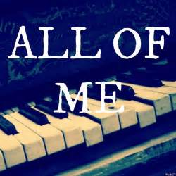 pin all of me chords on