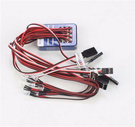 12led Simulation Lights Smart System Flash L For Rc 1 10 Model Car tamiya 12 led simulation lights smart system flash lighting for rc 1 10 scale models rc car tank
