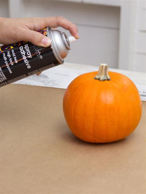 how to make pumpkin how to make glittered pumpkins easy crafts and