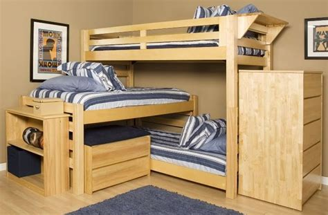 Triple Lindy Bunk Bed Woodworking Projects Plans Lindy Bunk Bed Plans