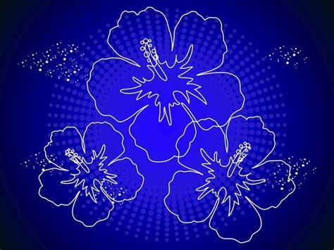 fiori hawaiani fiori hawaiani delinea scaricare vettori gratis