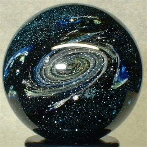 Handmade Glass Marbles - willis marbles galaxy dust handmade glass
