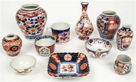 Setelan Ethica Imari 11 Size L estate collection of imari porcelain 11 items