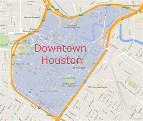 map of downtown houston texas houston downtown zip code map interalpinecg