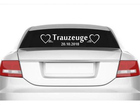 Auto Sticker Hochzeit by Autoaufkleber Hochzeit Trauzeuge Mit Datum