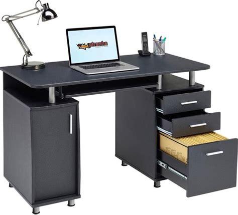 lade da scrivania bol piranha emperor bureau antraciet zwart