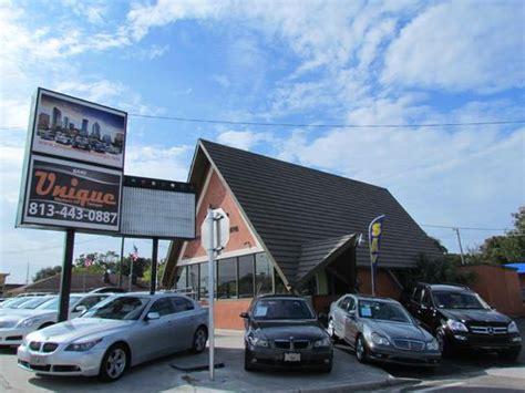 Car Dealers In Port Fl by Unique Motors Of Ta Ta Fl 33604 Car Dealership And Auto Financing Autotrader