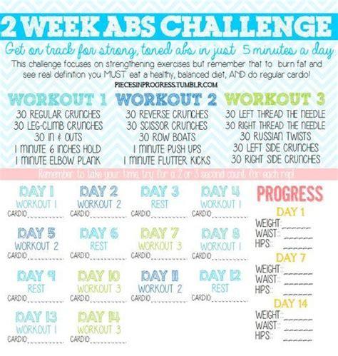 25 best ideas about 2 week abs on 2 week