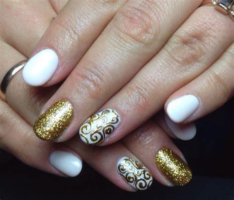 imagenes de uñas blancas con plata u 241 as decoradas las mejores ideas para tu manicura