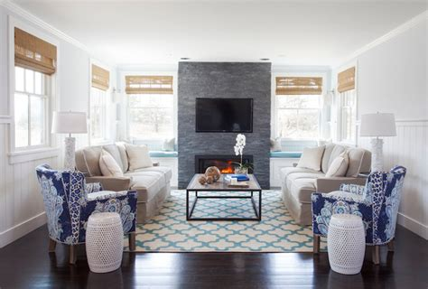 turquoise trellis rug transitional living room