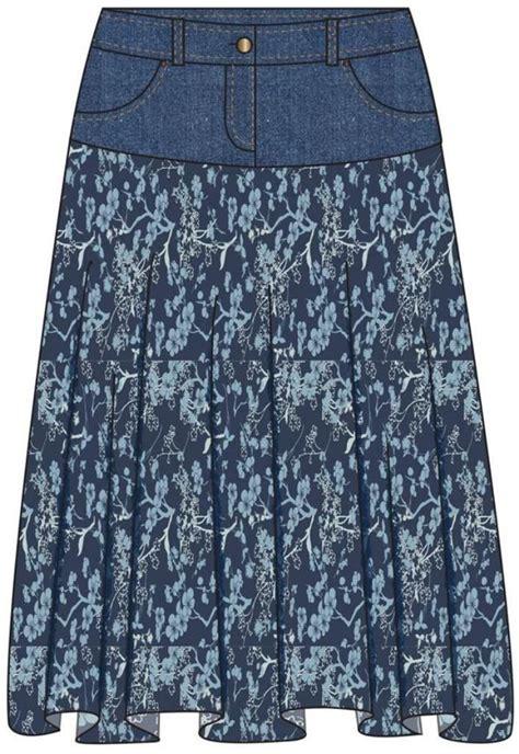 Rok Denim Maxi Skirt Dominggo Rok les 24 meilleures images du tableau customisation vestes