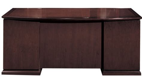 Front Office Desks Cherryman Emerald 84 Quot Bow Front Executive Desk 405n