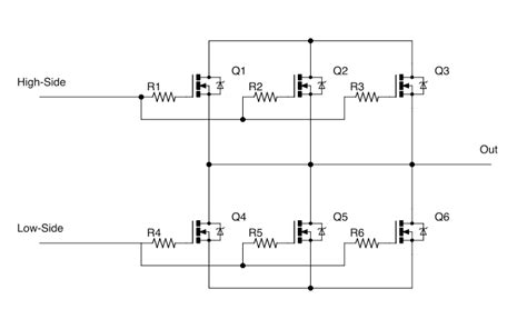 choosing mosfet gate resistor power parallel mosfets and gate drive capability electrical engineering stack exchange