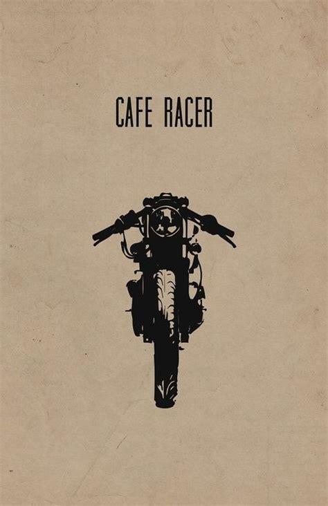 Poster Bingkau Kayu Cafe Racer мото рисунки типы мотоциклов блог им varklap байкпост