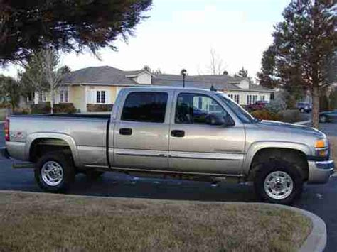 buy used 2003 gmc sierra 2500 hd slt crew cab 6 6l duramax diesel allison loaded nice in buy used 2003 gmc sierra 2500 hd slt crew cab pickup 4 door 6 6l in reno nevada united states