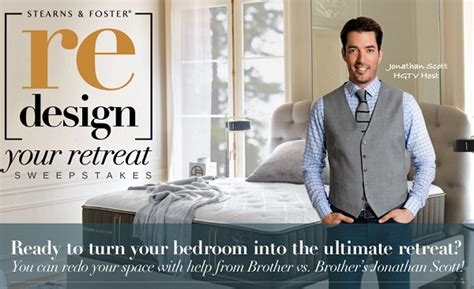 Stearns And Foster Ultimate Bedroom Sweepstakes - hgtv com stearns and foster redesign your retreat sweepstakes sweepstakesbible