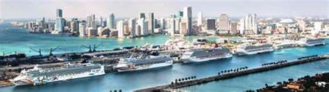 overview miami cruise ship port iq cruising