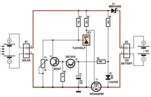 100w Solar Controller Circuit Schematic How To Make 4a Photovoltaic Solar Charge Controller