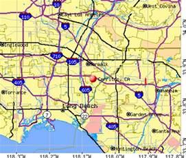 cerritos california map cerritos california ca 90703 profile population maps