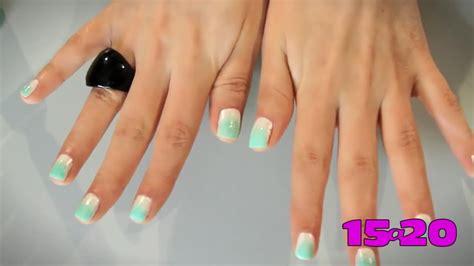 youtube tutorial uñas de gel tutorial efecto difuminado en tus u 241 as youtube