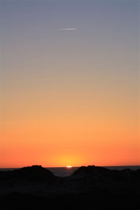 wallpaper senja biru gambar pantai laut horison matahari terbit matahari