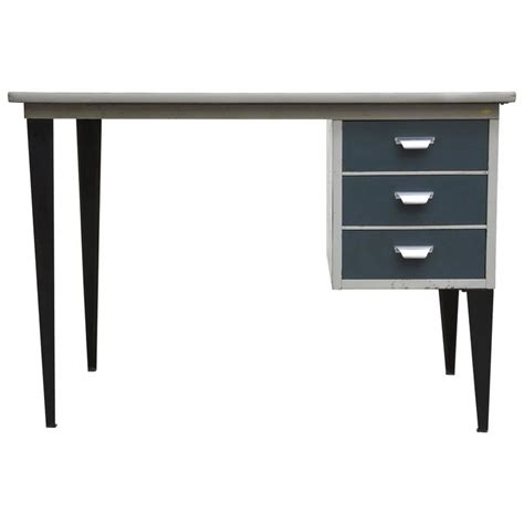 friso kramer style small industrial desk at 1stdibs