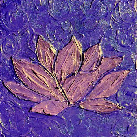 lotus flower chakra crown chakra purple lotus flower painting by chakra