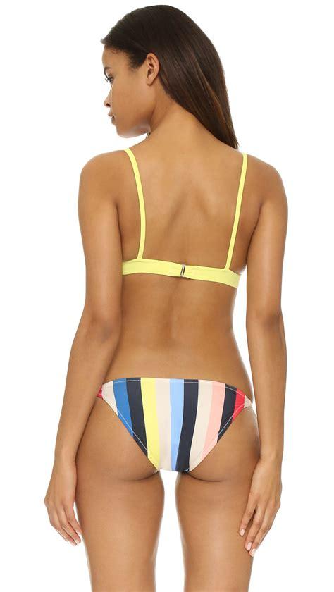 Kaos Stripe Seli Top solid striped top lyst