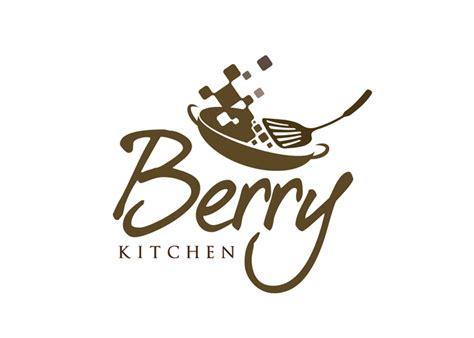 kitchen logo design logo design restaurant logo berry kitchen online