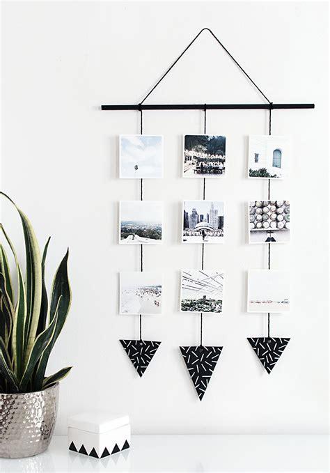 diy photo wall hanging - Photo Wall Hanging