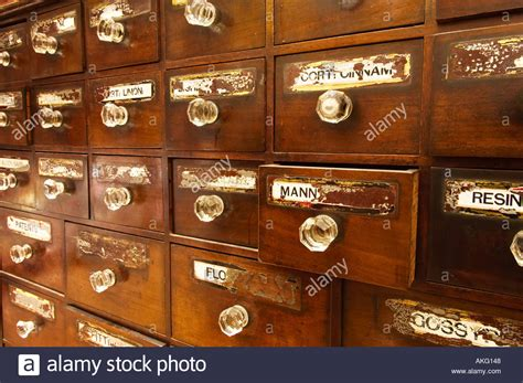 antique apothecary chest of drawers antique apothecary chest of drawers uk stock photo
