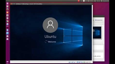 imagenes virtual box install windows 10 inside ubuntu virtualbox youtube