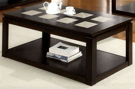 verona coffee table from furniture of america cm4484c