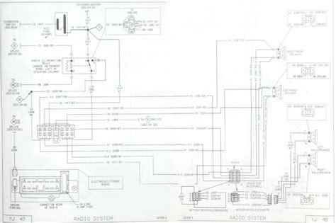 yj stereo wiring jeeptechnical