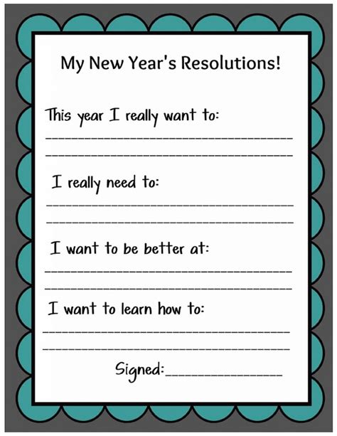 new year crafts for middle school best 25 new year s resolutions ideas on new